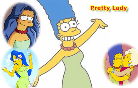 Marge Simpson - sinful slut today! Marge Simpson Toons