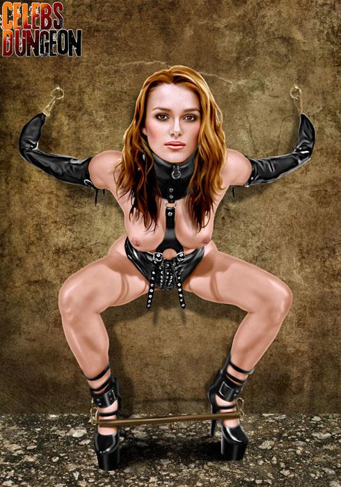 Keira Knightley bondage comics Bondage Celebs Comics Celebs Dungeon Fake Celebrity