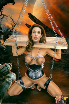 Celeb bondage images Celebs Dungeon