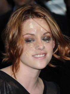 Dirty face of Kristen Stewart Fake Celebrity Kristen Stewart