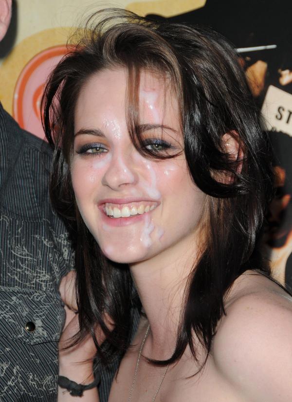 Cum on Kristen Stewart