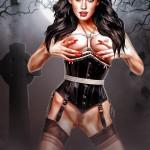 Hot bdsm show with Megan Fox Celebs Dungeon Megan Fox Sex