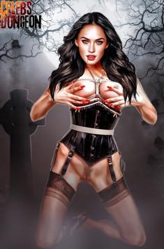 Sexy celeb babe Megan Fox Celebs Dungeon Megan Fox Sex