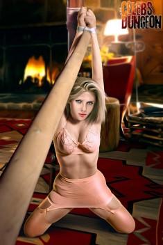 Celeb Dungeon porn scene Celebs Dungeon Scarlett Johansson porn