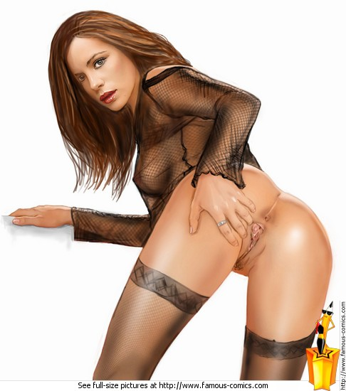 Кейт бекинсейл снималась в порно