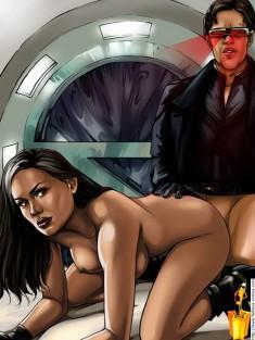 X-men comics Famous Comics X-men porn