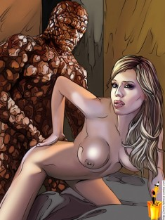 Fantastic Four xxx Famous Comics Hollywood stars